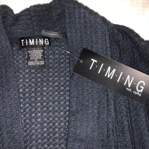 Timing Sweaters - Timing 💋 cardigan NWT. Pockets